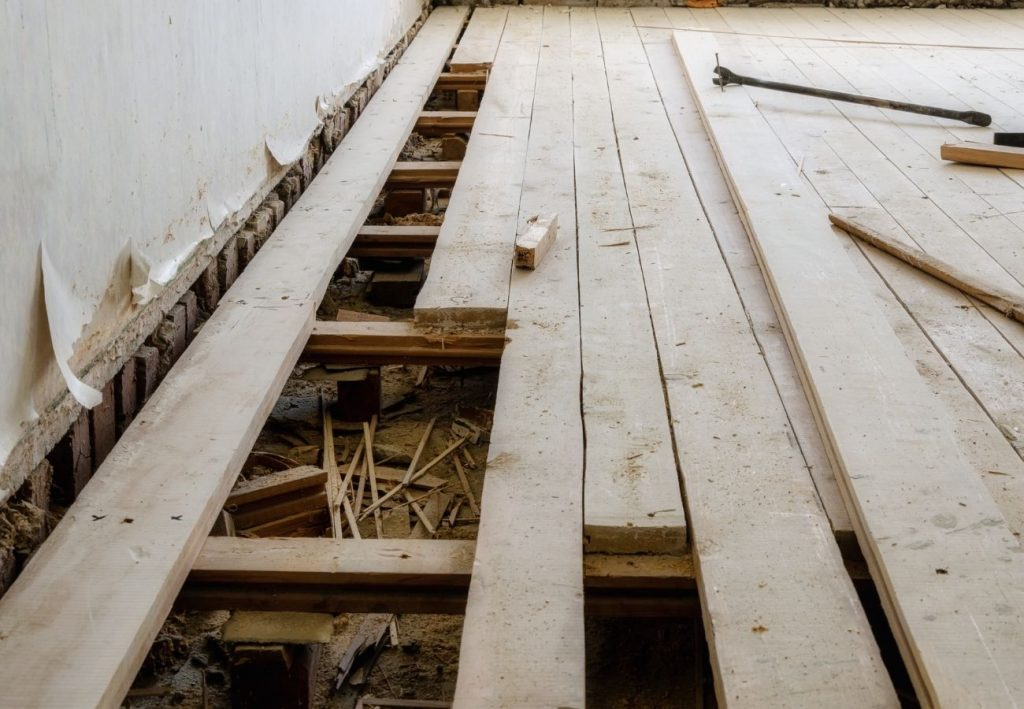 Uneven Floors – What Are the Causes and What Can You Do?